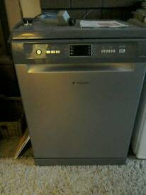 Nearly new Hotpoint dishwasher for sale