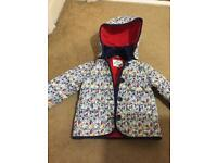Floral coat age 2-3 years
