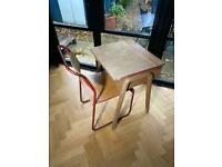 Vintage Writing Desk & Chair
