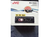 Jvc kd-r401 cd player - brand new in box