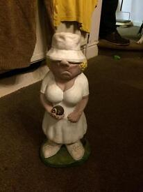 Garden ornaments £20 for the pair