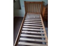 Single Oak Bed frame from John Lewis
