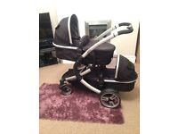 Isafe Me&You Double / Tandem / Twin Pram Pushchair