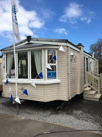 Luxury DOUBLE GLAZED & heated throughout 2 bed caravan Holiday Home with cheap site fees!!!!!!