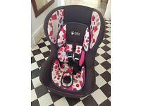 Halfords baby weaver car seat 0-18kg