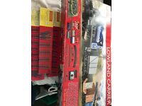 Hornby Lowland Carrier train set & track extension's.