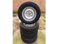 MERCEDES SPRINTER & VW CRAFTER (2007-20017) X 4 BRAND NEW WHEELS & MICHELIN TYRES 235/65/16 C