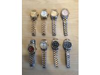 Ladies Rolex Womens Cartier Michael kors Ap Audemars Piguet MK Designer watches london cheap hendon