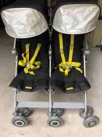 Maclaren techno twin pushchair
