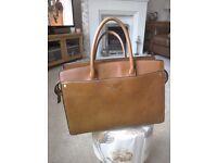 Large Genuine Fiorelli Tan Handbag