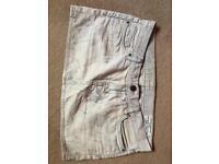 Size 10 skirt jeans all saints. Genuine