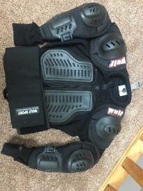 Wolf Sport back, shoulder, arm protector Child 164 & 146