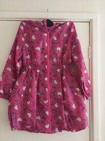 Hello Kitty Rain Coat age 9/10 yrs New