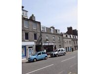 For Lease, Furnished, One bed, Top Floor flat, Stephen Place, Aberdeen.