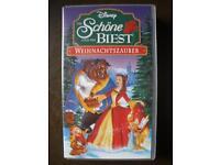 Walt Disney Die Schöne und das Biest Weihnachtszauber VHS O-Ton Saarland - Saarlouis Vorschau