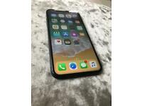 Iphone x 256gb unlocked to all networks space grey phone only