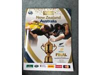 Rugby World Cup 2015 FINALS programme