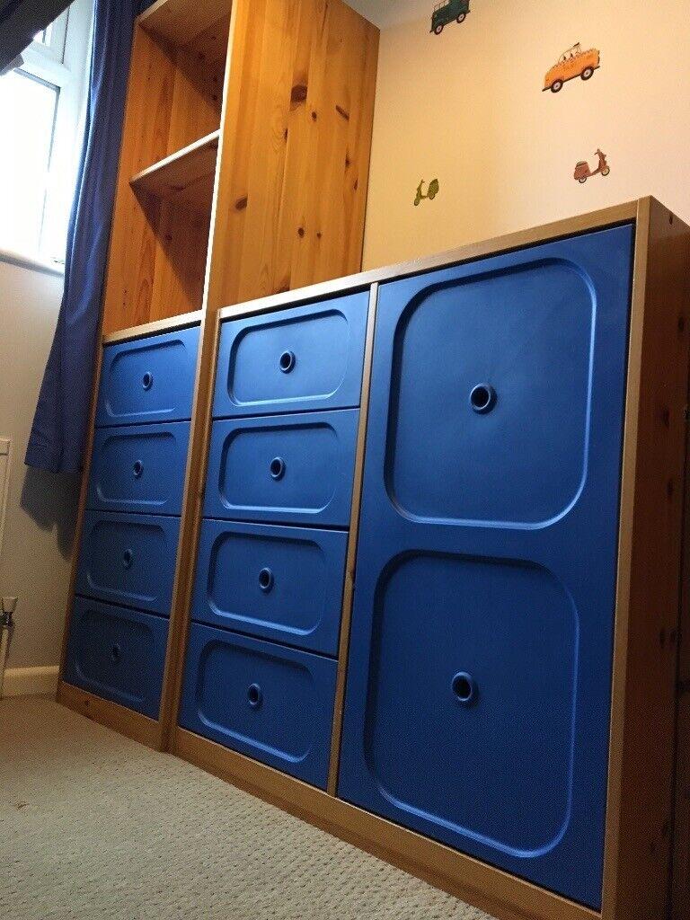 ikea trofast children's bedroom furniture  storage units