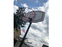 Basket ball hoop, complete with net and backboard! Cheap!