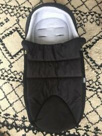 Never Used Mama's and Papas Footmuff/Liner