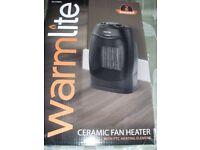 CERAMIC FAN HEATER (Brand New & Boxed)