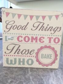 Wall Art / Signs Shabby Chic / Photography / Quotes