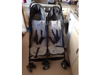 Twin chicco stroller