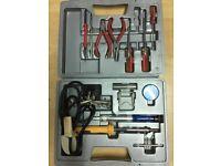 Electronics Tool Kit - pliers, soldering, tweezers