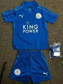Leicester city 3-4years kit new socks and shorts top worn twice