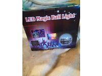 3 LED magic ball lights