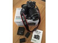 Canon EOS 70D 20.2MP Digital SLR Camera - Black with EF-S 18-135 IS STM lens