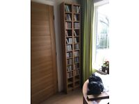 Pair of IKEA CD storage units