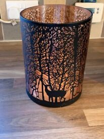 2 Glowray stag in forest lanterns