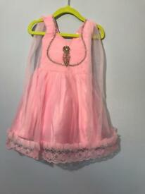 Girls party dress .. 12 months used once