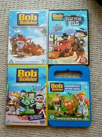 4 Bob Builder DVDs