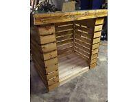 Log store/Stick Shed