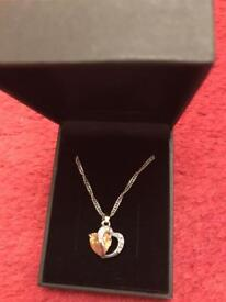 Brand new heart necklace