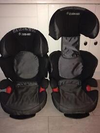 2 x Maxi Cozi Rodi XR car seats