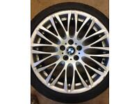 "20"" BMW style 149 e65 genuine bbs alloys wheels staggered Audi vw 17 18 19 330d 335d 530d 535d"