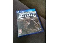 Days Gone new and sealed for PS4 and PS5 with PS5 upgrade