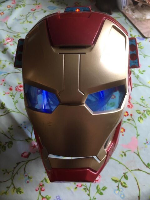 Marvel Iron-man mask   Lights up and makes different sounds   in  Stapleford, Nottinghamshire   Gumtree