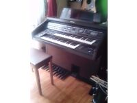 TECHNICS*** Electric Digital Organ / Keyboard full working good play