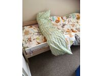 IKEA toddler bed and mattress 1yr old