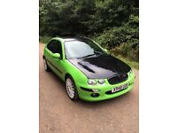 MG ZR ROVER 25 GTI MANUAL 1.8 MOTD TAXED FOCUS ST GREEN/BLACK 0Z 17 INCH ALLOYS GOOD TYRES £450