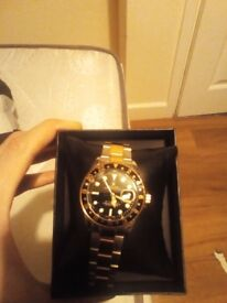 Men's Rolex watch with box good condition unwanted gift
