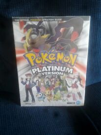 POKEMON Platinum Version - The Official Pokemon Strategy Guide - sealed as new