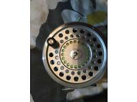 Hardy marquis no3 almost new with box papers and warranty fly reel