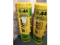 Loft insulation - two rolls of 170mm Isover