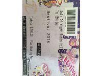 Selling 1 weekend adult bestival ticket!