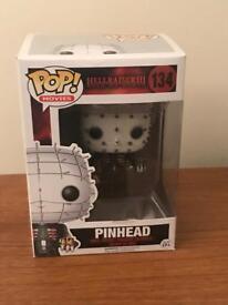 Funko Pop Vinyl - 134 Hellraiser 3 - Pinhead - Mint in Box